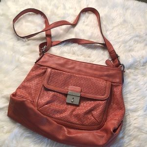 Franco Sarto orange Handbag